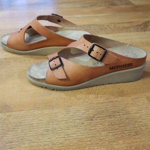Mephisto Elka Leather Sandals